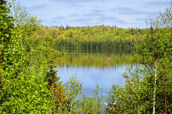 Morning Fishing On Ninemile Lake Photography Art | LHR Images
