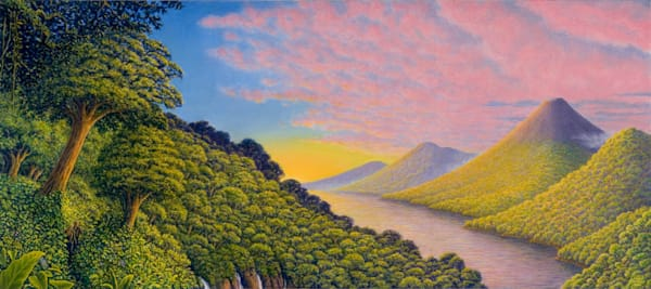 Vista Arenal Canvas Giclee Art | markhensonart
