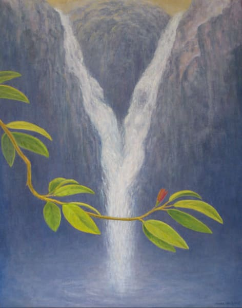 Waterfall Limited Canvas Giclee Art | markhensonart