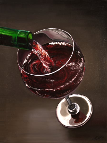 Pour Me One Art | MMG Art Studio | Fine Art Colorado Gallery