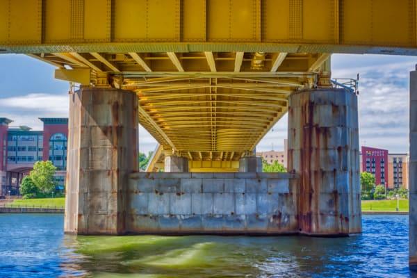 Under Fort Duquesne Bridge