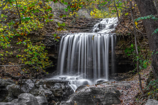 Photo Art by James - Peaceful Falls