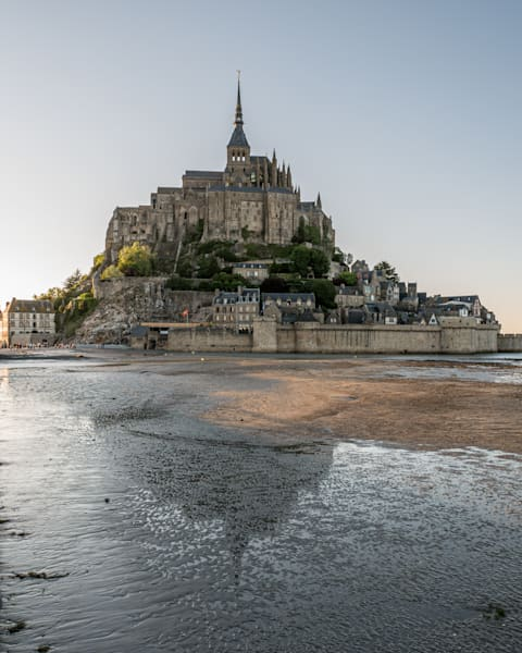 Mont Saint Michel, Normandy Fr Photography Art | Kim Bova Photography