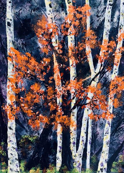 Birch Blues Art | House of Fey Art