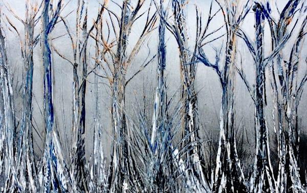 Gray Ghost Trees Art | House of Fey Art