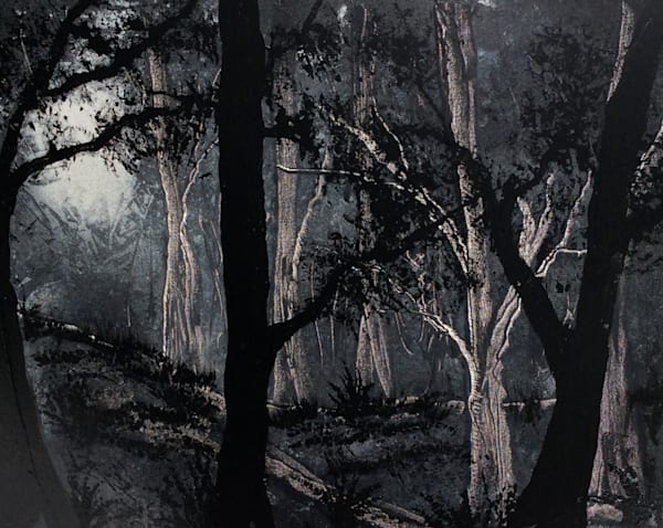 Night Forest Art | House of Fey Art