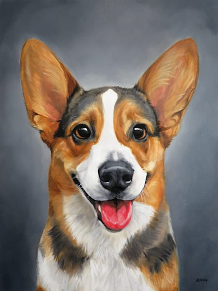 Fine Art Print of Bruce the Welsh Corgi