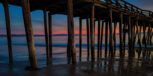 Capitola Pier Sunset Photography Art | FocusPro Services, Inc.