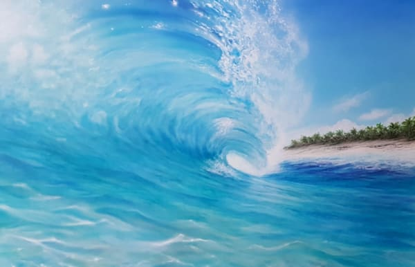 Hawaii Art Gallery presents Local Surf Artist Thomas R. Smith