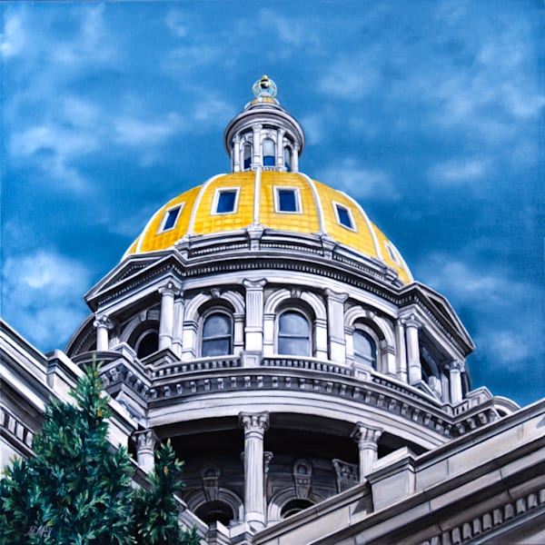Capital | Original Oil Painting Art | MMG Art Studio | Fine Art Colorado Gallery