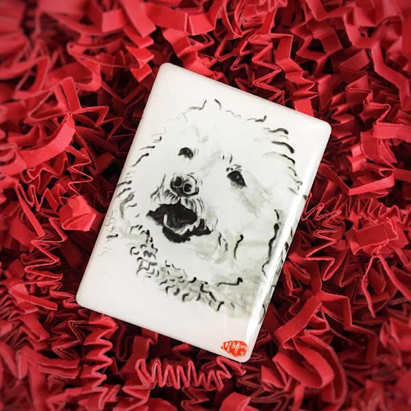 Leroy Popcorn (Miniature Poodle Mix) Art | Youngi-Sumistyle pets