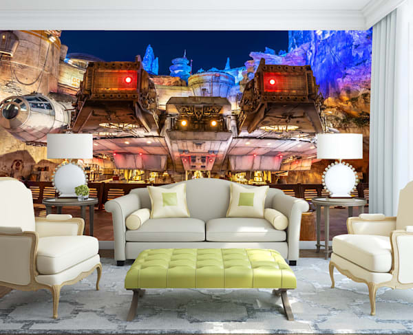 The Millenium Falcon - Disney Wall Murals | William Drew Photography