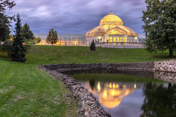 Conservatory Cloudy - Minnesota Wall Murals   William Drew Photography