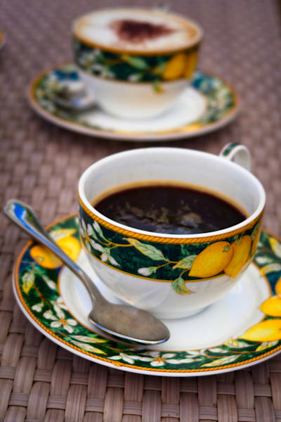 Coffee In Sorrento Photography Art | FocusPro Services, Inc.