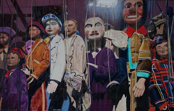 Sicilian Puppets Art | Cera Arts
