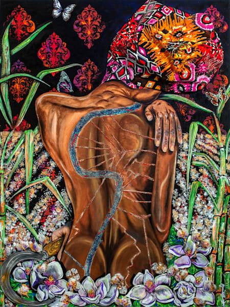 """Built On The Back Of Nola"" Art | Jamila Art Gallery"