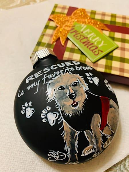 Custom Holiday Ornaments 5 | Jamila Art Gallery