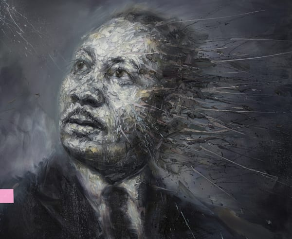 Martin Luther King Jr. Art | Mathieu Laca