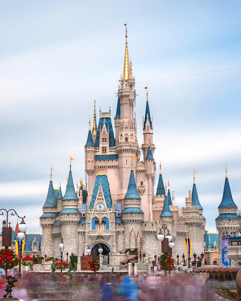 A Castle and A Mouse - Disney World Canvas Art | William Drew Photography