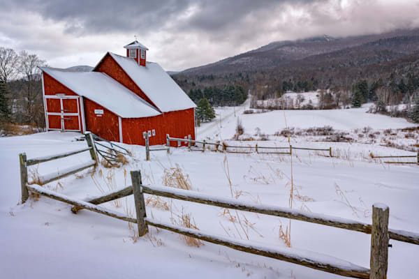 Winter Day at Grandview Farm | Shop Photography by Rick Berk