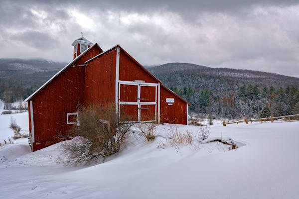 Fresh Snow at Grandview Farm | Shop Photography by Rick Berk