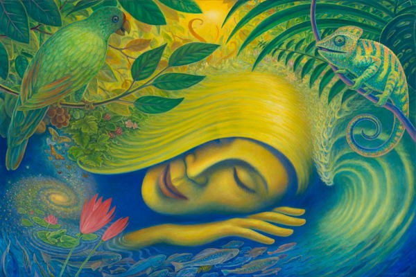 The Dreamer original oil painting by Mark Henson