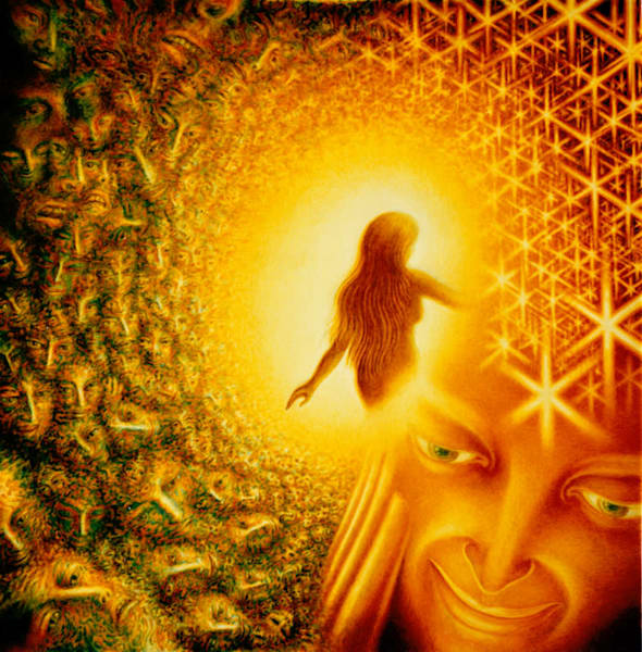 Inner Voices original painting by Mark Henson