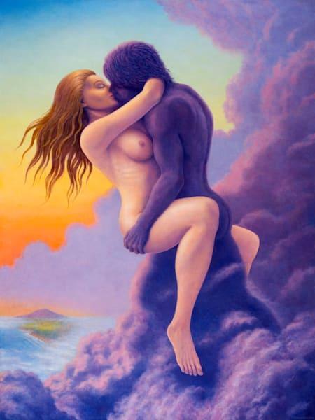 Mystic Union Original Oil Painting Art   markhensonart