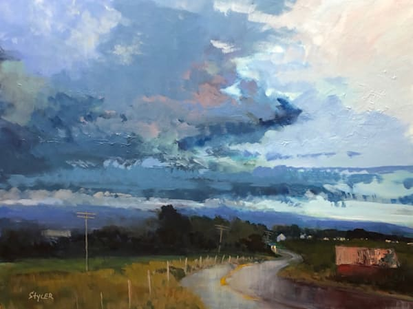 After The Rain Art | Anda Styler Fine Art