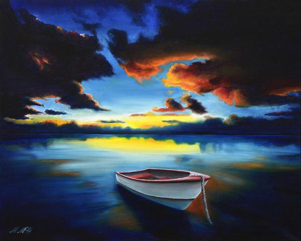 Stunning Sunset Art | MMG Art Studio | Fine Art Colorado Gallery
