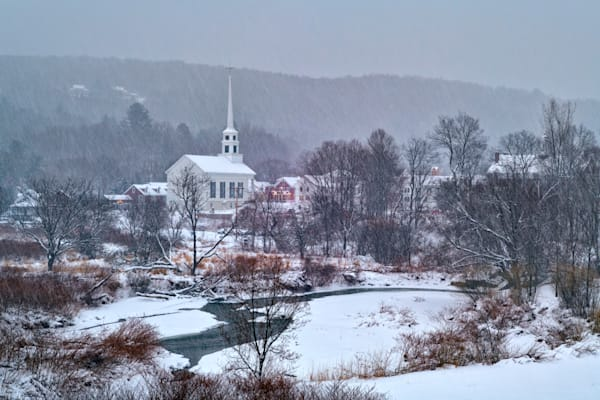 Snowy Morning in Stowe | Shop Photography by Rick Berk