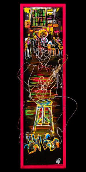 """Jazz Scene""  Preservation Hall Art | Jamila Art Gallery"