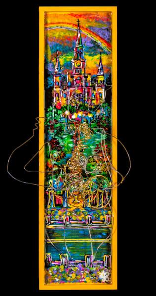 """Jazz Scene""  St. Louis Cathedral Art | Jamila Art Gallery"