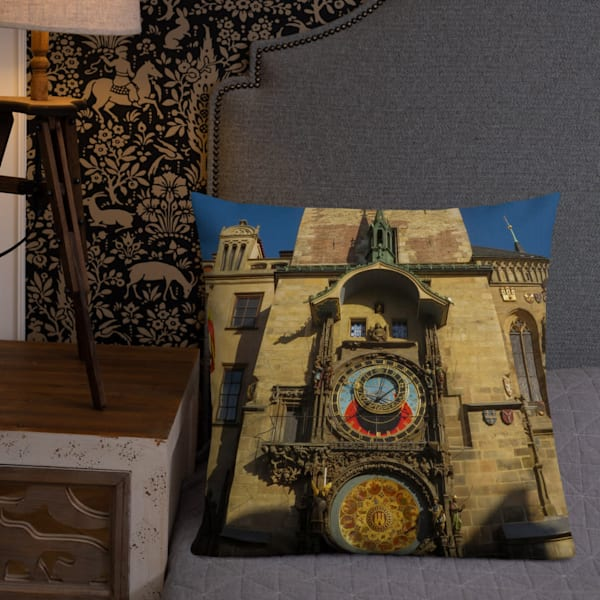 """""""But Really, What Time Is It"""" Premium Pillow 