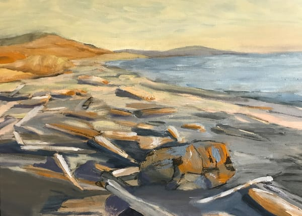 South Beach Evening, San Juan Island Art by Friday Harbor Atelier