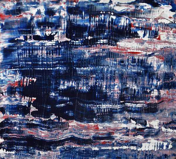 Blue Abstract Art | RPAC Gallery