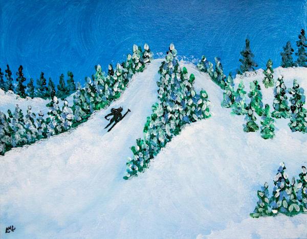 For the Love of Skiing   LML Studio Art