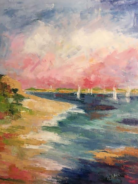 Sailboats On The Bay Art | East End Arts