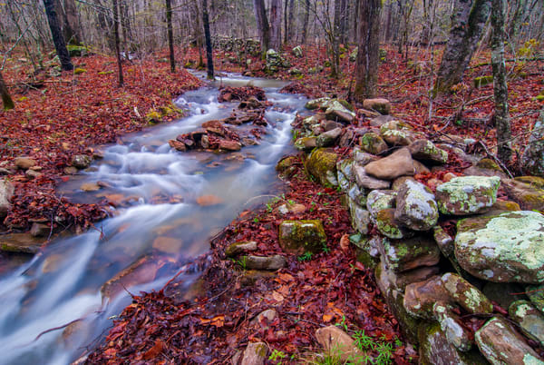 Below King's Bluff - Ozark Mountains National Forest photography prints
