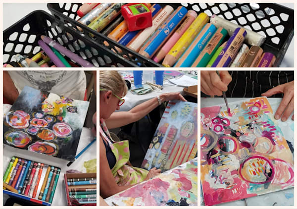Weekend Workshop: Abstract Art with Betty Franks Krause