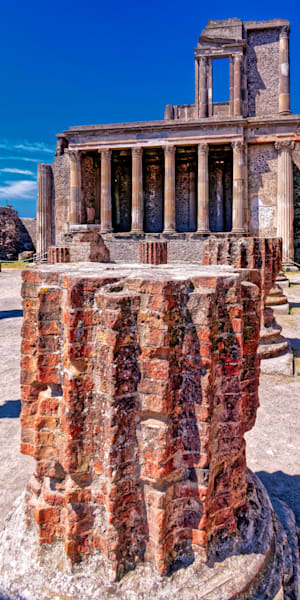 Pompei Ruins Photography Art | FocusPro Services, Inc.