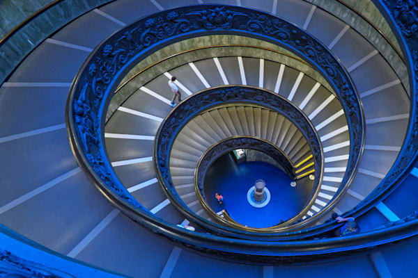 Vatican Stairs Photography Art | FocusPro Services, Inc.