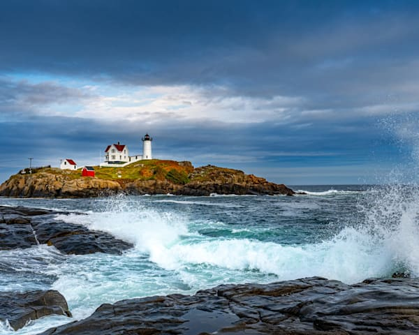 Nubble Light in York Maine