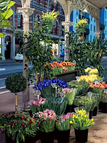 The Night Florist - Brunswick St Melbourne