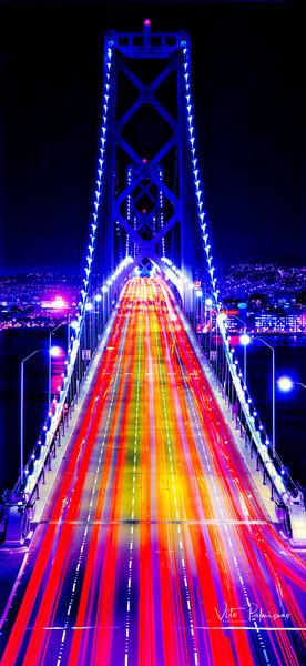 Bay Bridge, San Francisco, Ca Photography Art | vitopalmisano