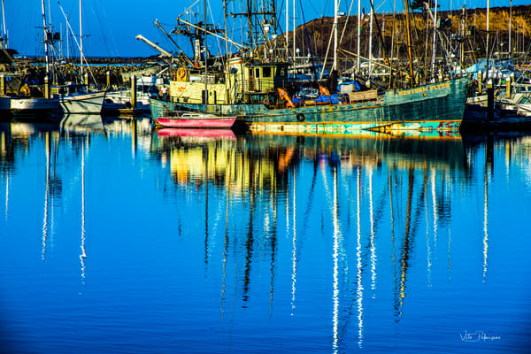 Pillar Point Marina, Half Moon Bay, Ca Photography Art | vitopalmisano