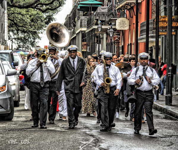 Jazz Band Wedding Procession  Photography Art | rozcoxosbornephoto.com