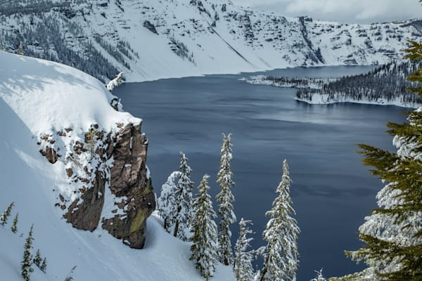 Crater Lake Corner Photography Art | Lovere Photography