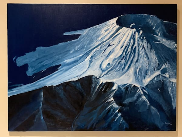 """Mt St Helens At 10,000 Feet """"Sold"""" Prints Available    Dave Fox Studios"""