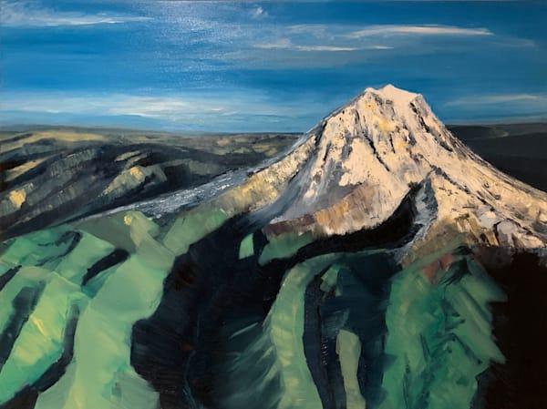Mt Rainier At 10,000 Feet *Sold* Prints Available    Dave Fox Studios